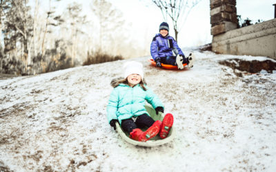 Snowy Days in Georgia